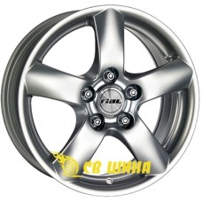 Rial Oslo 7x16 5x110 ET38 DIA65,1 (silver) Б/У