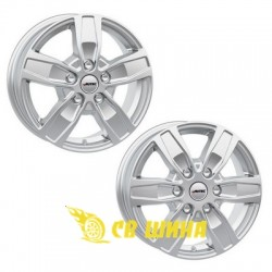 Autec Quantro 6x15 5x130 ET60 DIA84,1 (brilliant silver)