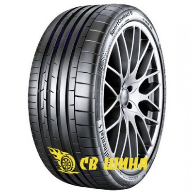 Шини Continental SportContact 6 245/40 ZR19 98Y XL
