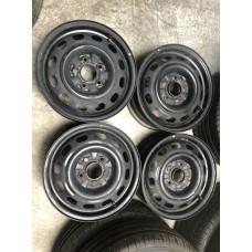 Steel Noname 6x15 5x114,3 ET45 DIA67,1 (black) Б/У