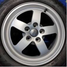 Audi OEM 8W0601025 7x16 5x112 ET35 DIA66,6 (silver) Б/У