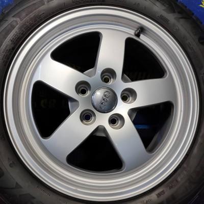 Диски Audi OEM 8W0601025 7x16 5x112 ET35 DIA66,6 (silver) Б/У