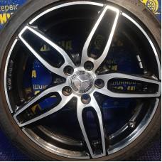 Mercedes OEM A1764010700 7,5x18 5x112 ET52 DIA66,6 (BKF) Б/У