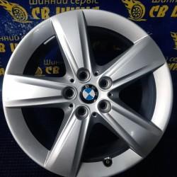 BMW OEM 6855087 7,5x17 5x112 ET54 DIA66,6 (silver) Б/У