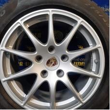 Porsche OEM 97036213603 8x18 5x130 ET59 DIA71,6 (silver) Б/У