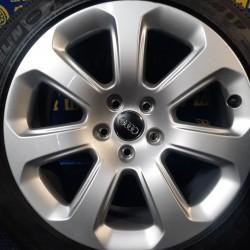 Audi OEM 4H0071497 7,5x17 5x112 ET26 DIA66,6 (silver) Б/У