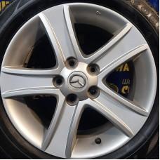 Mazda OEM 9965677060 7x16 5x114,3 ET55 DIA67,1 (silver) Б/У