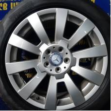 Mercedes OEM A2044011502 7,5x19 5x112 ET47 DIA66,6 (silver) Б/У