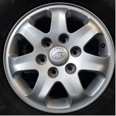 Kia OEM 529104D100 6,5x16 6x139,7 ET46 DIA (silver) Б/У