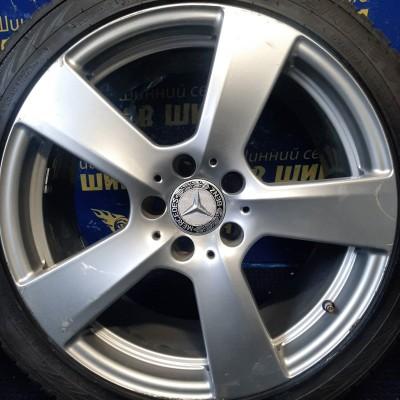Диски Mercedes OEM A2124011402 9x18 5x112 ET54 DIA66,6 (silver) Б/У