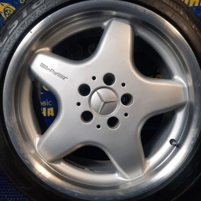 Диски Mercedes OEM A1704010102 7,5x17 5x112 ET37 DIA66,6 (silver) Б/У