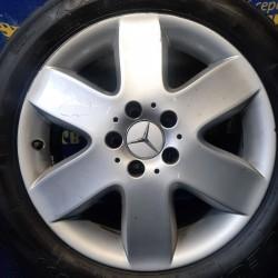 Mercedes OEM A6394011902 7x17 5x112 ET56 DIA66,6 (silver) Б/У