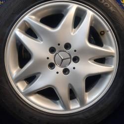 Mercedes OEM A2204010202 7,5x17 5x112 ET46 DIA66,6 (silver) Б/У