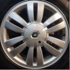 Renault OEM 8200433985 7x17 5x108 ET50 DIA60,1 (silver) Б/У