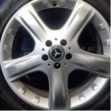 Mercedes OEM A1644011202 8x19 5x112 ET60 DIA66,6 (silver) Б/У