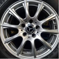 Mercedes OEM A2054012400 6,5x16 5x112 ET38 DIA66,6 (silver) Б/У