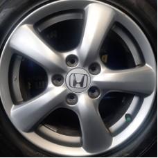 Honda OEM WHL110972 6,5x16 5x114,3 ET55 DIA64,1 (silver) Б/У