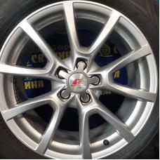 Audi OEM 8R0601025C 8x18 5x112 ET39 DIA66,6 (silver) Б/У