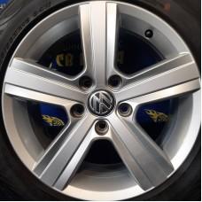Volkswagen OEM 5G0601025RP 6,5x16 5x112 ET46 DIA57,1 (silver) Б/У