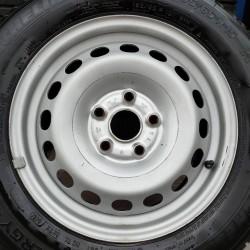 Steel Noname 6x15 5x112 ET41 DIA57,1 (silver) Б/У