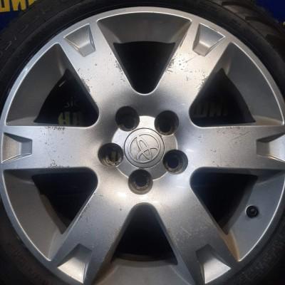 Диски Toyota OEM PZ406T0676ZC 6,5x16 5x100 ET45 DIA54,1 (silver) Б/У