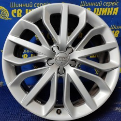 Audi OEM 4G0601025P 7,5x19 5x112 ET33 DIA66,6 (silver) Б/У