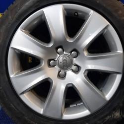 Audi OEM 4H0601025B 7,5x18 5x112 ET26 DIA66,6 (silver) Б/У