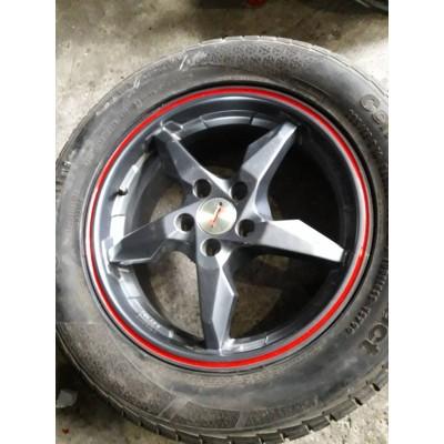 Диски RS Wheels 5240TL 6,5x16 5x100 ET45 DIA70,1 (GM) Б/У