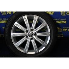 Volkswagen OEM 6TA6010250 6,5x17 5x112 ET62 DIA57,1 (silver) Б/У