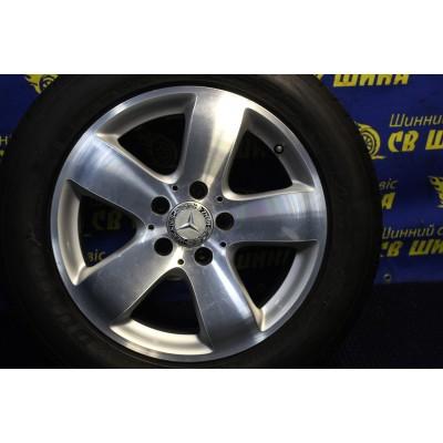 Диски Mercedes OEM A2114011502 7,5x16 5x112 ET42 DIA66,6 (silver) Б/У