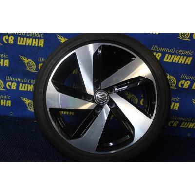 Диски Volkswagen OEM 5G0601025CN 7,5x18 5x112 ET49 DIA57,1 (BKF) Б/У