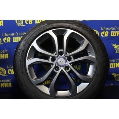 Диски Mercedes OEM A2054010200 7x17 5x112 ET48,5 DIA66,6 (GM) Б/У