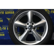 Mercedes OEM A2094010502 7,5x17 5x112 ET36 DIA66,6 (silver) Б/У
