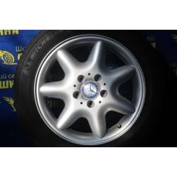 Mercedes OEM A2034010302 7x16 5x112 ET37 DIA66,6 (silver) Б/У