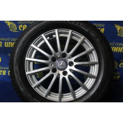 Mercedes OEM A2054012502 6,5x16 5x112 ET38 DIA66,6 (silver) Б/У