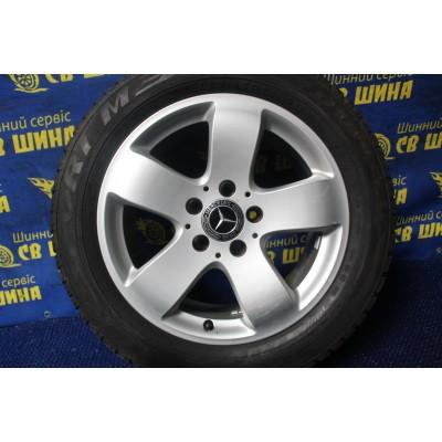 Диски Mercedes OEM A2114014502 7,5x16 5x112 ET42 DIA66,6 (silver) Б/У
