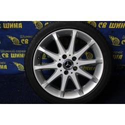 Mercedes OEM A1694010702 7x17 5x112 ET49 DIA66,6 (silver) Б/У