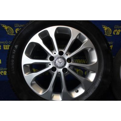 Диски Mercedes OEM A1564011700 6,5x17 5x112 ET38 DIA66,6 (silver) Б/У