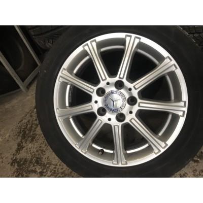 Диски Mercedes OEM A1694012802 6x16 5x112 ET49 DIA66,6 (silver) Б/У